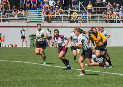 Women's 7s nationals playing